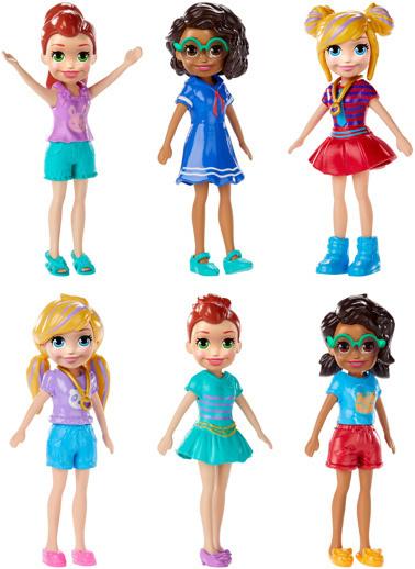 Polly Pocket Polly Pocket ve Arkadaşları  Renkli